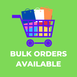 Bulk orders are available