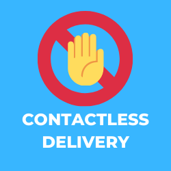 We offer contactless delivery